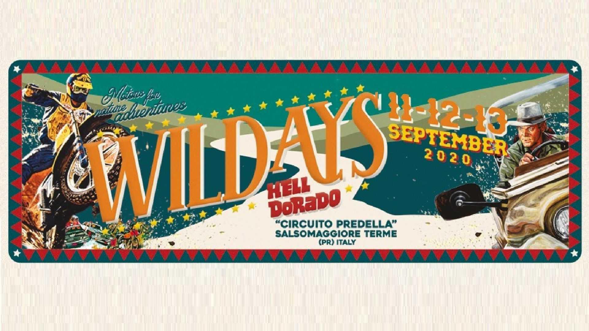 Wildays 2020, quarta edizione confermata dall'11 al 13 settembre   OmniMoto.it