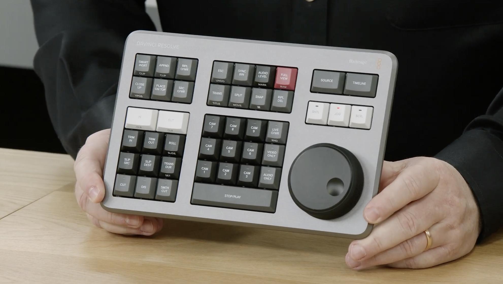 Blackmagic Introduce 'Speed Editor' for DaVinci Resolve – Simon McGuire